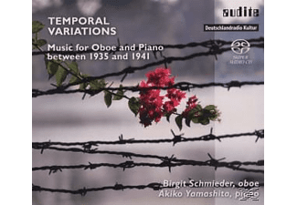 Birgit Schmieder, Akiko Yamashita - Termporal Variations - Music For Oboe And Piano  - (SACD Hybrid)