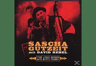 Gutzeit,Sascha & Rebel,David - Live Auffe Fresse  - (CD)