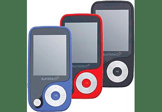 "Reproductor MP4 - Sunstech Thorn, 4GB, Pantalla 1.8"", Radio FM, Rojo"