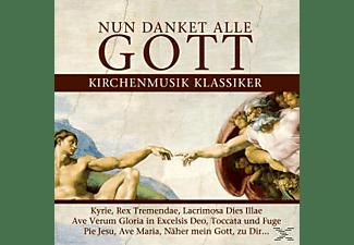 VARIOUS - Nun Danket Alle Gott-Kirchenmusik Klassiker  - (CD)