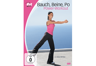 Fit For Fun - Bauch, Beine, Po Power-Workout - (DVD)