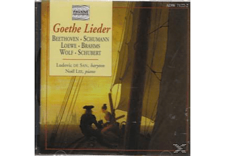 VARIOUS, San,Ludovic/Lee,Noel - Goethe Lieder  - (CD)
