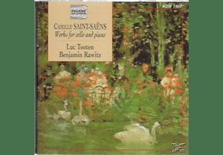 VARIOUS, Tooten,Luc/Rawitz,Benjamin - Saint-Saens Cellosonaten  - (CD)
