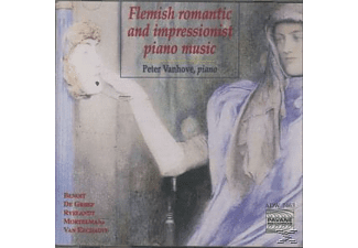 Peter Vanhove, Peter Vahove - Flämische Klaviermusik  - (CD)