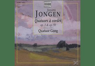 Quatuor Gong, Quaruor Gong - Jongen:Streichquartette 1+2  - (CD)