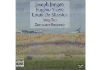 Goeyvaerts Trio - String trios  - (CD)