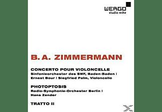 VARIOUS - Cellokonzert / Photoptosis / Tratto II  - (CD)