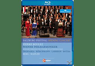 Röschmann/Prohaska, Boulez/Prohaska/Röschmann/WPO - Salzburg Festival Opening Concert 2011  - (Blu-ray)