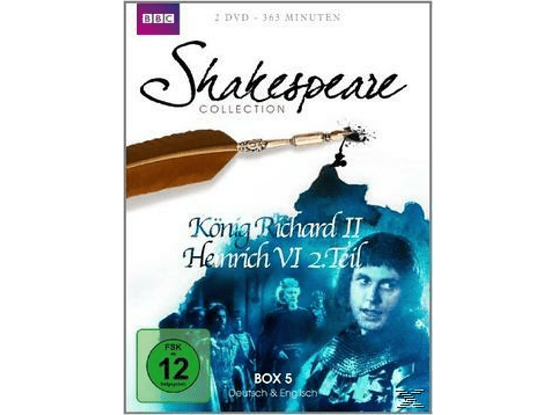 SHAKESPEARE COLLECTION 5.BOX [DVD]