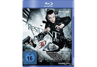 Resident Evil: Afterlife 3D Blu-ray