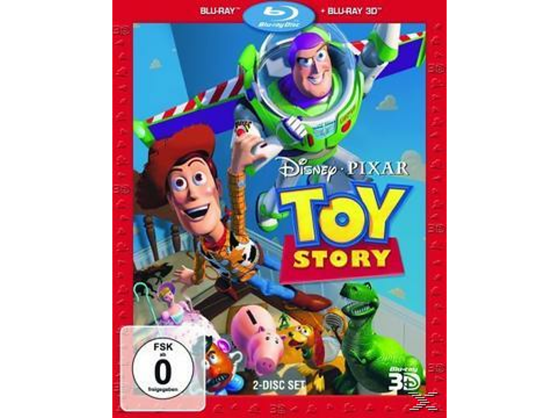 Toy Story 1 - 3D Superset [3D Blu-ray]