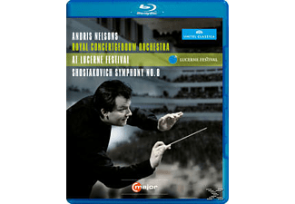 Andris Nelsons, Nelsons/Royal Concertgebouw Orch., Andris/cgo Nelsons - Sinfonie 8/Rienzi Ouvertüre  - (Blu-ray)
