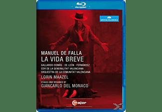 Gallardo-domas, Maazel/Gallardo-Domas/de Leon - La Vida Breve  - (Blu-ray)