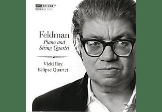 Eclipse Quartet, Vicki Ray - Klavier-Und Streichquartett  - (CD)
