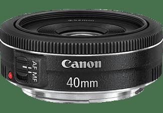 CANON EF 40mm 1:2,8 STM - 40 mm f/2.8 STM (Objektiv für Canon EF-S-Mount, Schwarz)