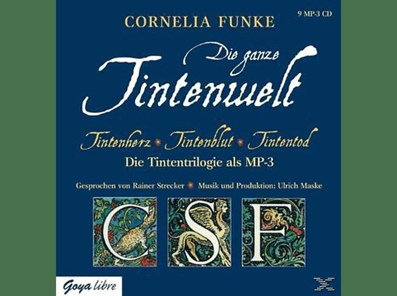 Die ganze Tintenwelt - (MP3-CD)