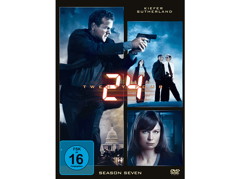 24 - Staffel 7 [DVD]