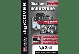 S+M Digicover 3 Zoll Monitor, Schutzfolie, Transparent