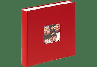 WALTHER FA-208-R Fun Fotoalbum, 100 Seiten, Papiereinband, Rot
