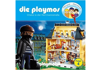 Die Playmos 04: Chaos in der Hermannstraße  - (CD)