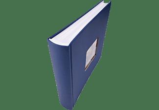 WALTHER FA-208-L Fun Fotoalbum, 100 Seiten, Papiereinband, Blau