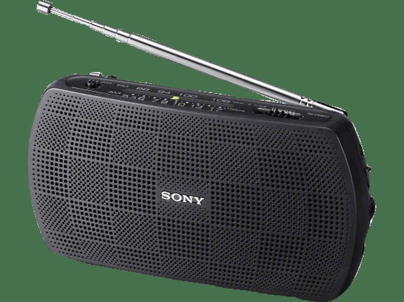 SONY SRF-18 Radio (UKW, MW, Schwarz)