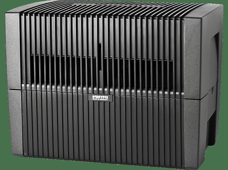 VENTA LW 45 Original Luftbefeuchter Anthrazit/Metallic (8 Watt, Raumgröße: 75 m²)