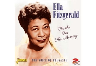 Ella Fitzgerald - THANKS FOR THE MEMORY  - (CD)