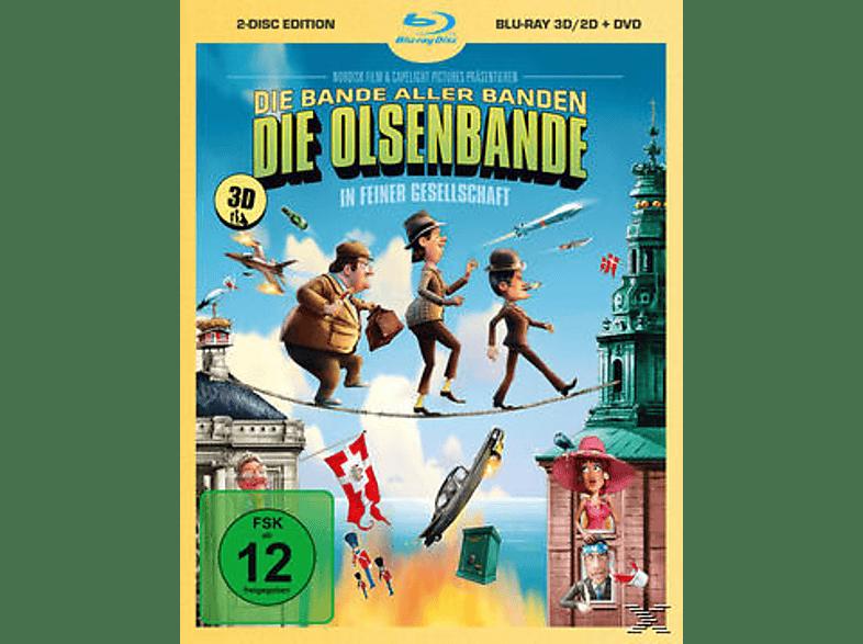 Die Olsenbande in feiner Gesellschaft [3D Blu-ray]