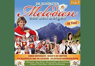 VARIOUS - Die Schönsten Melodien Aus Den Bergen F.1  - (CD)