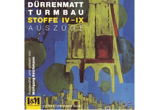 Friedrich Dürrenmatt - Turmbau  - (CD)
