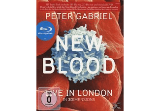The New Blood Orchestra - New Blood Live In London - 3D Blu-Ray  - (Blu-ray + CD)