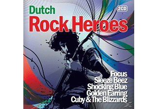VARIOUS - Dutch Rock Heroes  - (CD)