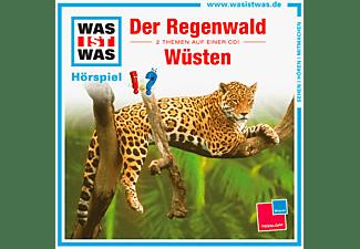 WAS IST WAS: Der Regenwald / Wüsten  - (CD)
