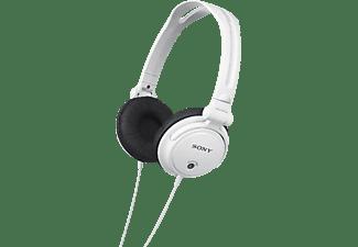 SONY MDR-V150, On-ear Kopfhörer Weiß
