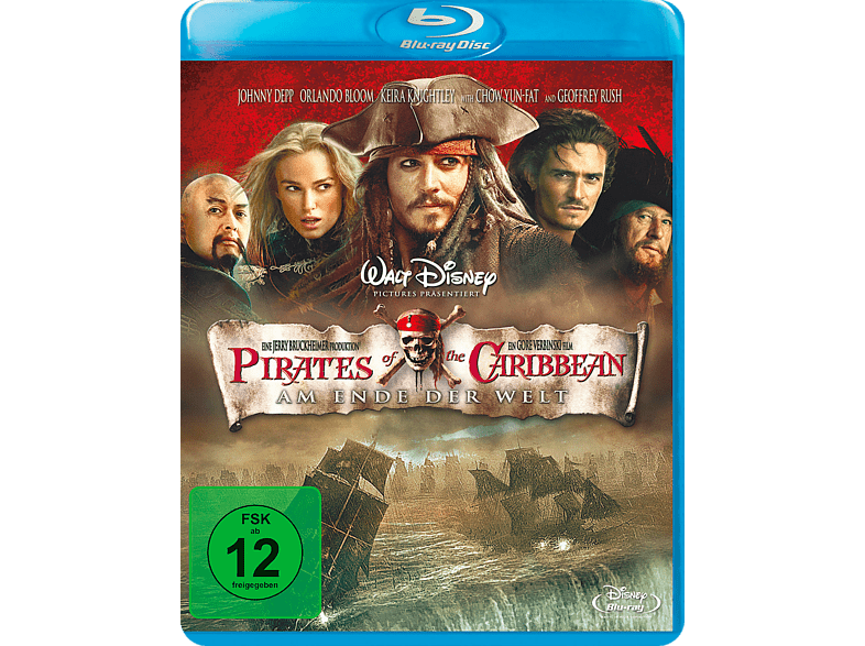 Pirates Of The Caribbean 3 - Am Ende der Welt [Blu-ray]