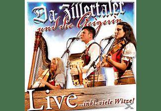 Da Zillertaler Und Die Geigerin - Live  - (CD)