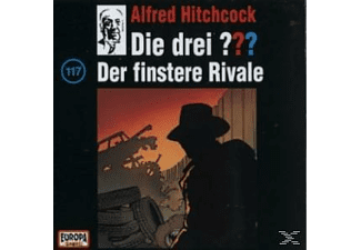 Die drei ??? 117: Der finstere Rivale  - (CD)
