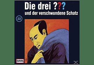 Die drei ??? 22: ...und der verschwundene Schatz  - (CD)