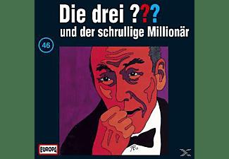 Die drei ??? 46: ...und der schrullige Millionär  - (CD)