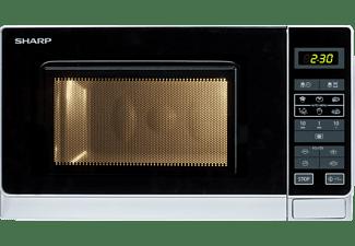 SHARP R-242INW Mikrowelle (800 Watt)