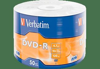 VERBATIM 43788 Matt Silber DVD-R 16X 4.7GB Rohling