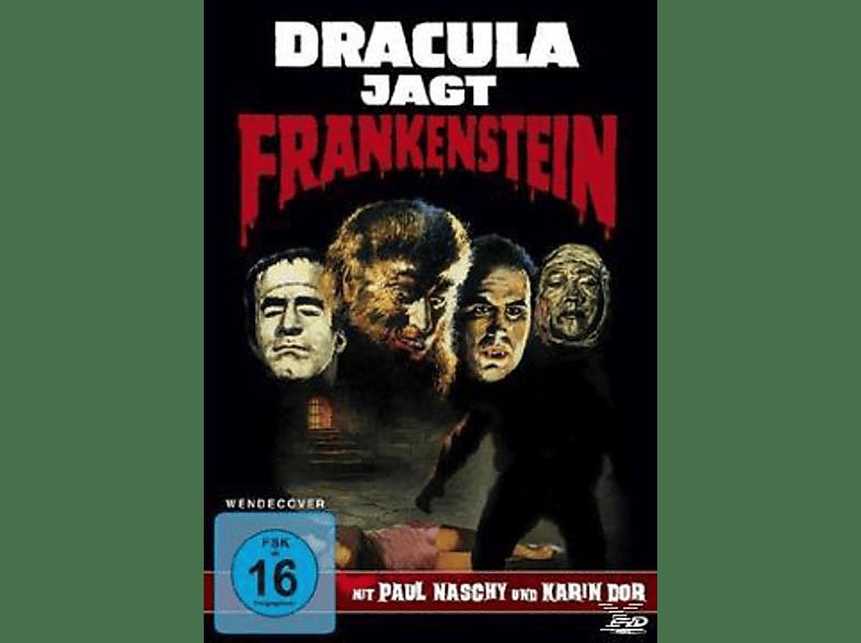 Dracula jagt Frankenstein [DVD]