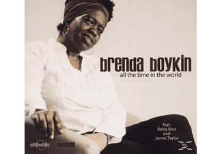 Brenda Boykin - all the time in the world  - (CD)