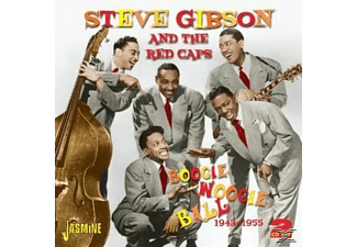Steve & The Red Caps Gibson - BOOGIE WOOGIE BALL 1943-45  - (CD)