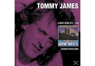 Tommy James - A Night In Big City+Bonus Tracks  - (CD)