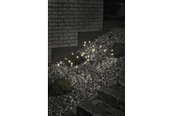 KONSTSMIDE LED Sternenstäbe, 5er-Set, 25 warm weiße Dioden LED Sternenstäbe,  Grün,