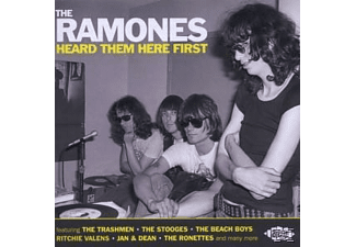 VARIOUS - The Ramones Heard Them Here First - (CD)