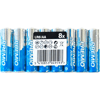 PANASONIC 40235028 LR6PR/8P AA Mignon Batterie  8 Stück