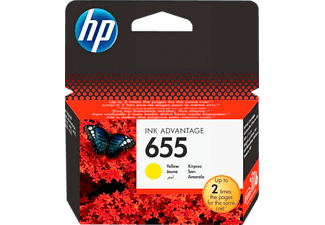 HP 655 Yellow - (CZ112AE)